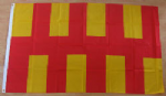 Northumberland Large County Flag - 5' x 3'.